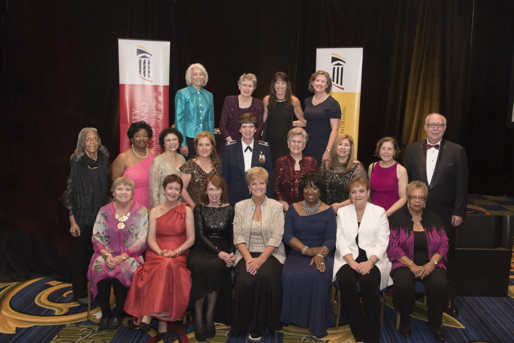 Dr. Havens was one of 25 nursing alumni to receive the inaugural Visionary Pioneer Award at the University of Maryland School of Nursing 125th anniversary gala. Photos courtesy of the University of Maryland School of Nursing.